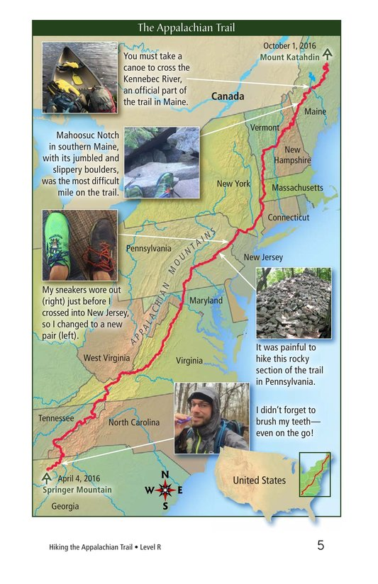 Book Preview For Hiking the Appalachian Trail Page 5