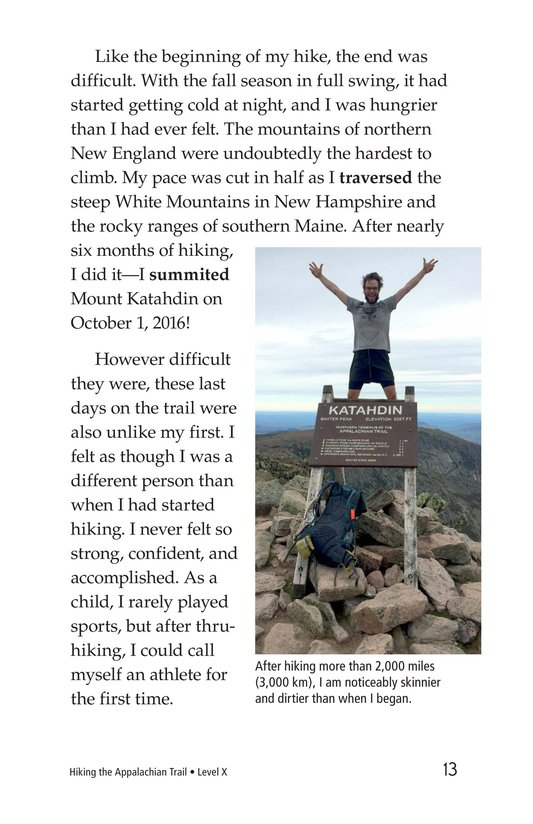 Book Preview For Hiking the Appalachian Trail Page 13