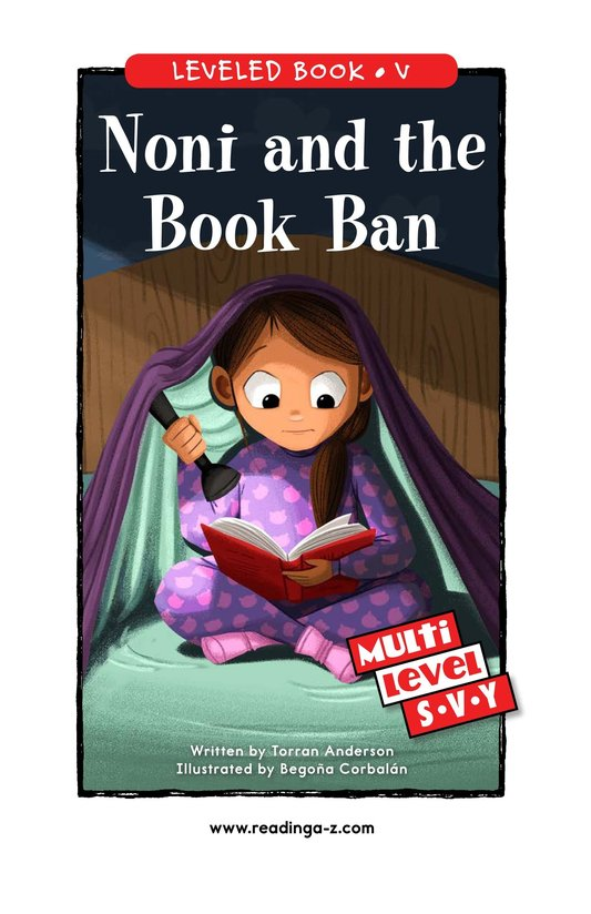 Book Preview For Noni and the Book Ban Page 0