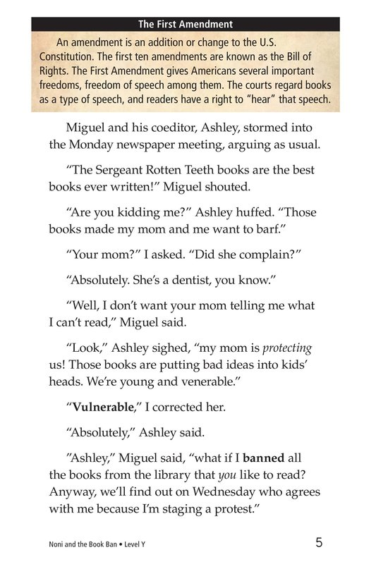 Book Preview For Noni and the Book Ban Page 5