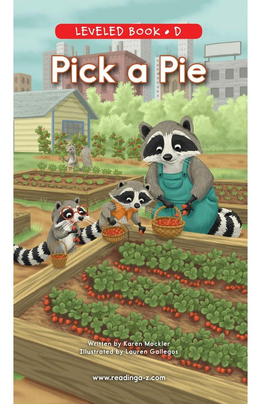 Book Preview For Pick a Pie Page 0