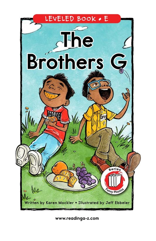 Book Preview For The Brothers G Page 0