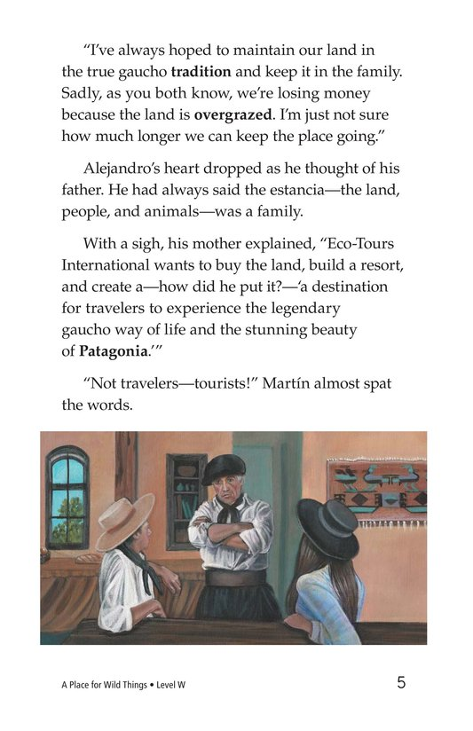Book Preview For A Place for Wild Things Page 5