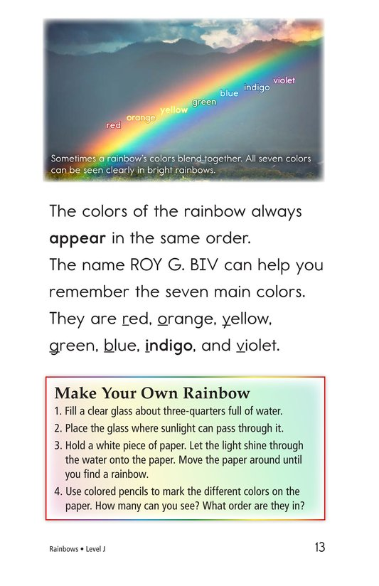Book Preview For Rainbows Page 13