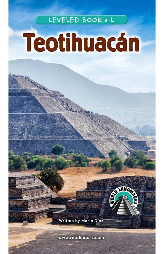 Book Preview For Teotihuacan Page 0