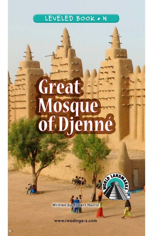 Book Preview For Great Mosque of Djenné Page 0