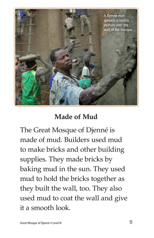 Book Preview For Great Mosque of Djenné Page 11