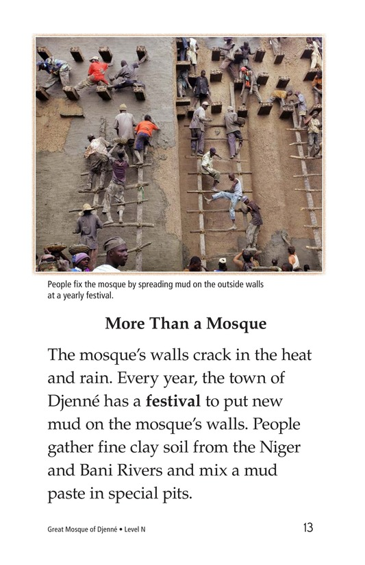 Book Preview For Great Mosque of Djenné Page 13