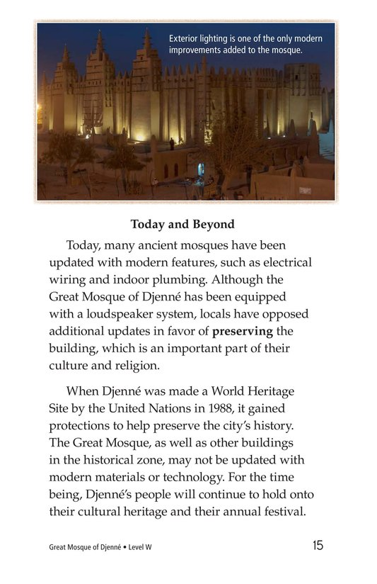 Book Preview For Great Mosque of Djenné Page 15