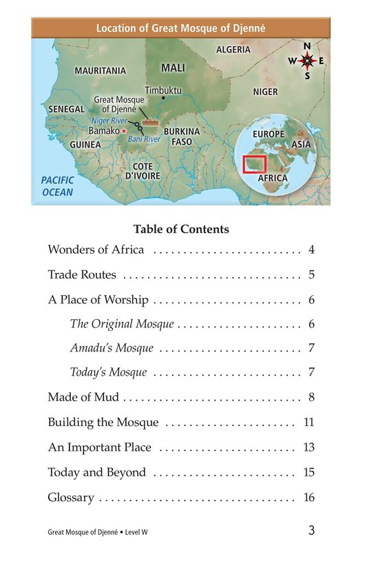 Book Preview For Great Mosque of Djenné Page 3