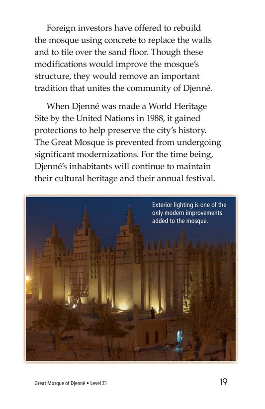 Book Preview For Great Mosque of Djenné Page 19
