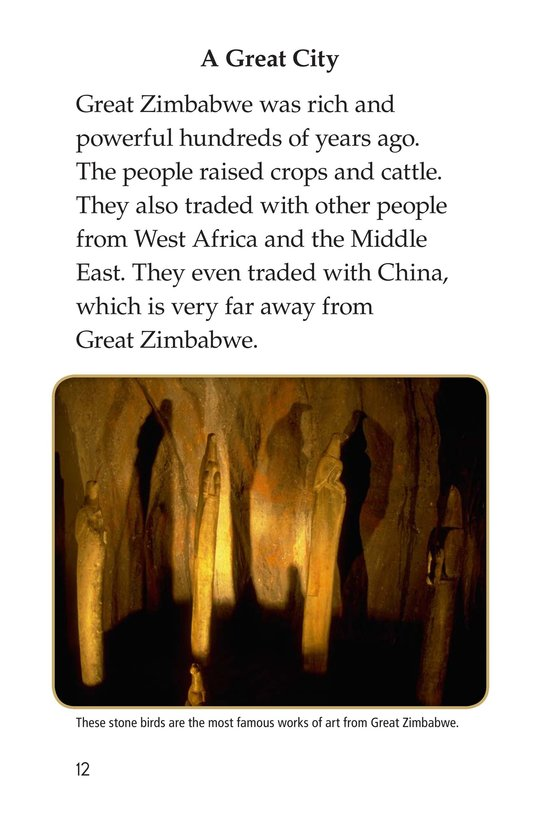 Book Preview For Great Zimbabwe Page 12