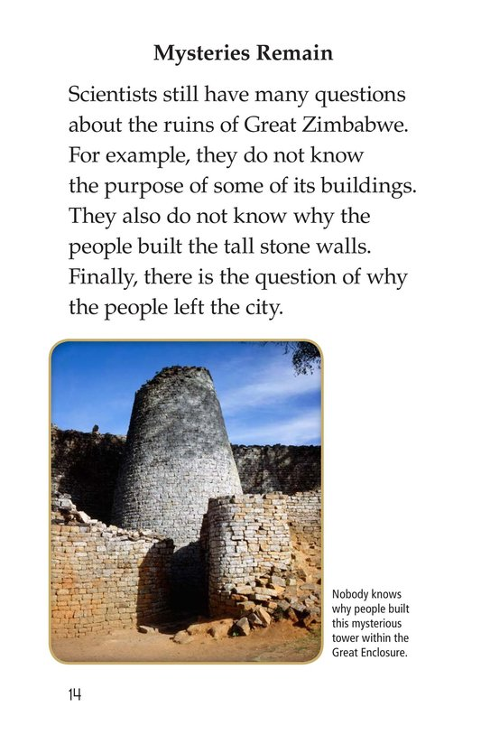 Book Preview For Great Zimbabwe Page 14