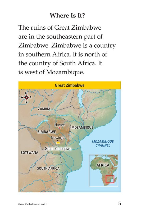 Book Preview For Great Zimbabwe Page 5