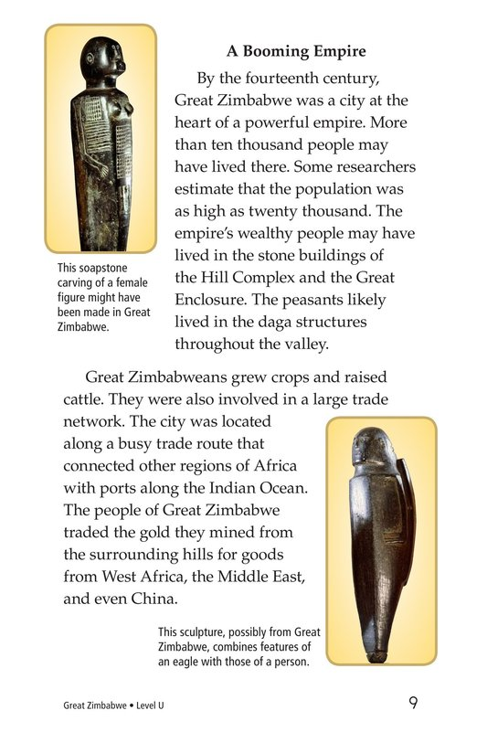 Book Preview For Great Zimbabwe Page 9