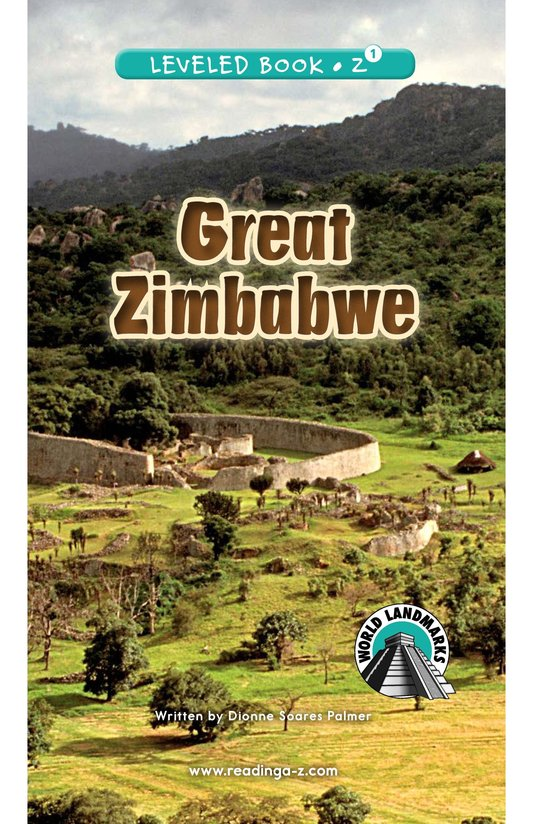 Book Preview For Great Zimbabwe Page 0