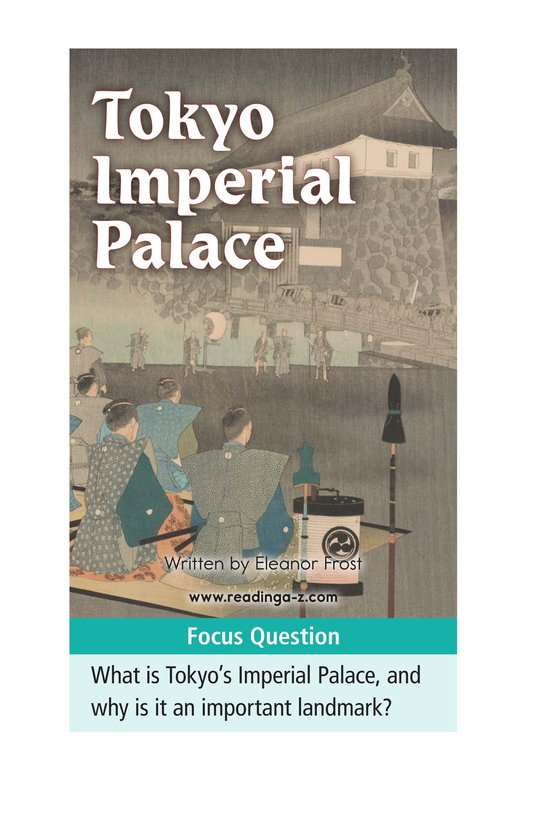 Book Preview For Tokyo Imperial Palace Page 1