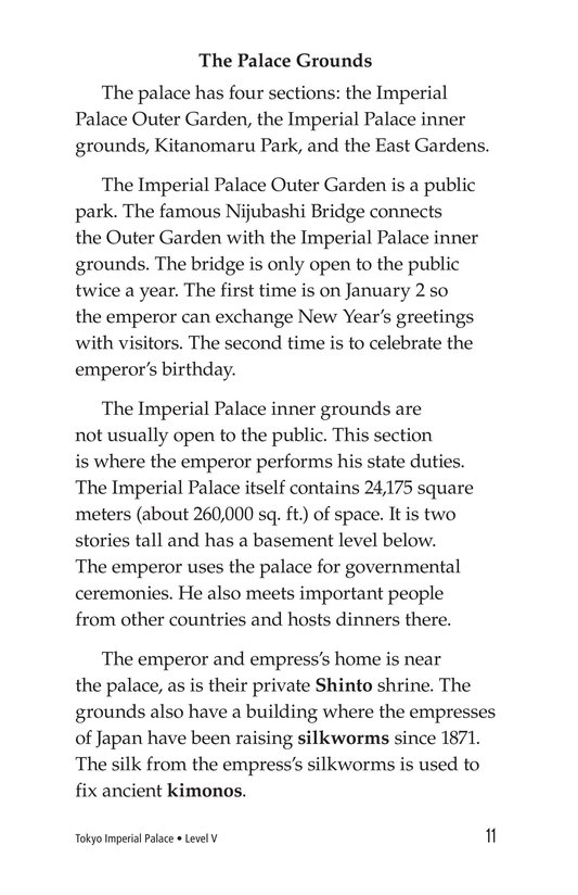 Book Preview For Tokyo Imperial Palace Page 11