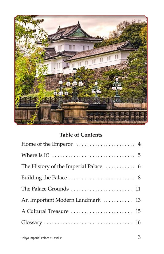 Book Preview For Tokyo Imperial Palace Page 3