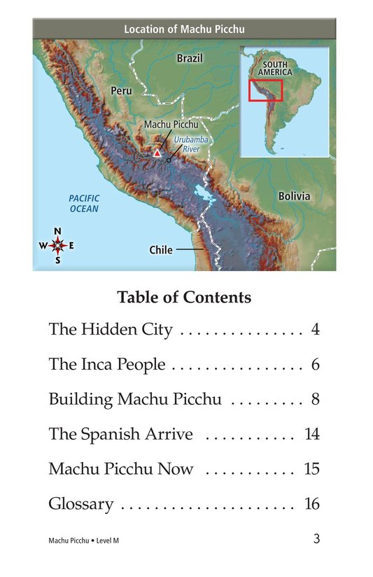 Book Preview For Machu Picchu Page 3