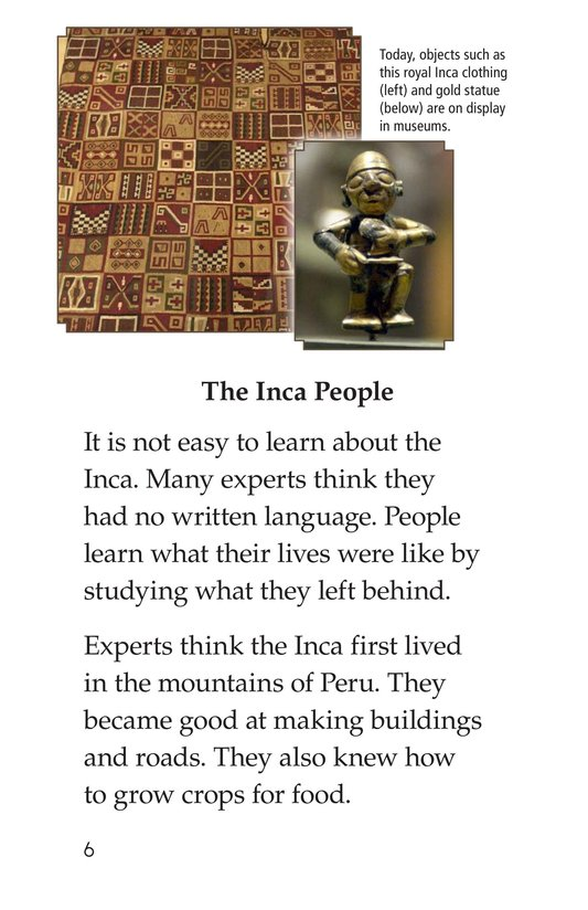 Book Preview For Machu Picchu Page 6