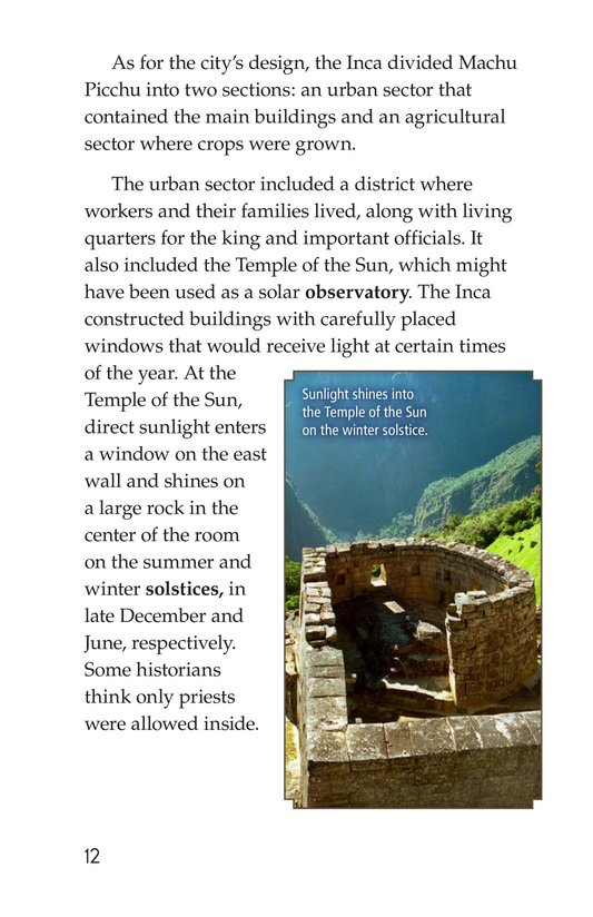 Book Preview For Machu Picchu Page 12