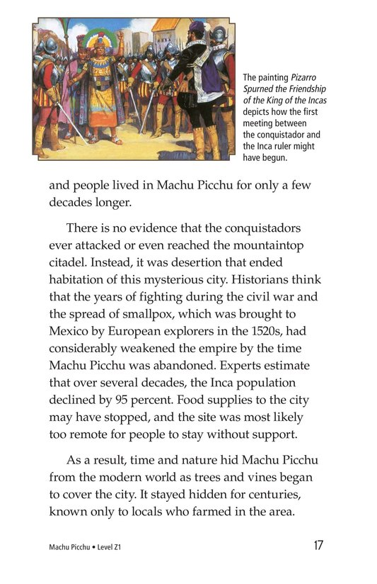 Book Preview For Machu Picchu Page 17