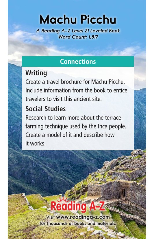 Book Preview For Machu Picchu Page 21