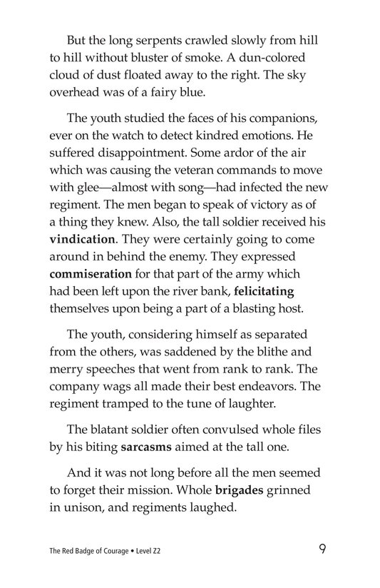 Book Preview For The Red Badge of Courage (Part 2) Page 9