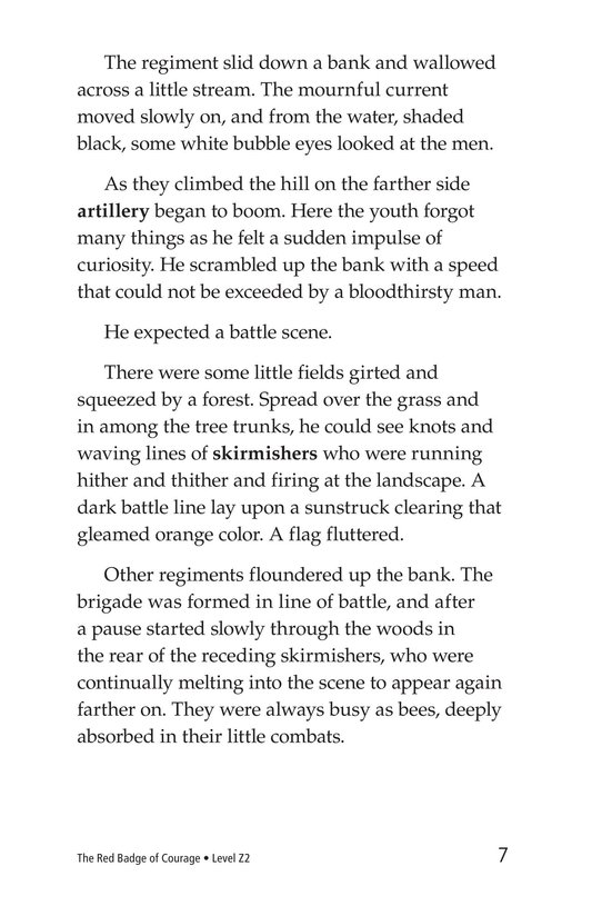 Book Preview For The Red Badge of Courage (Part 3) Page 7