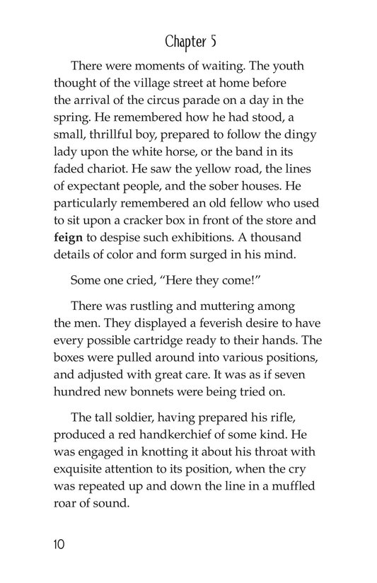 Book Preview For The Red Badge of Courage (Part 4) Page 10