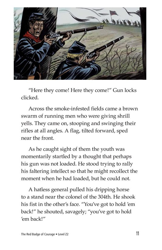 Book Preview For The Red Badge of Courage (Part 4) Page 11