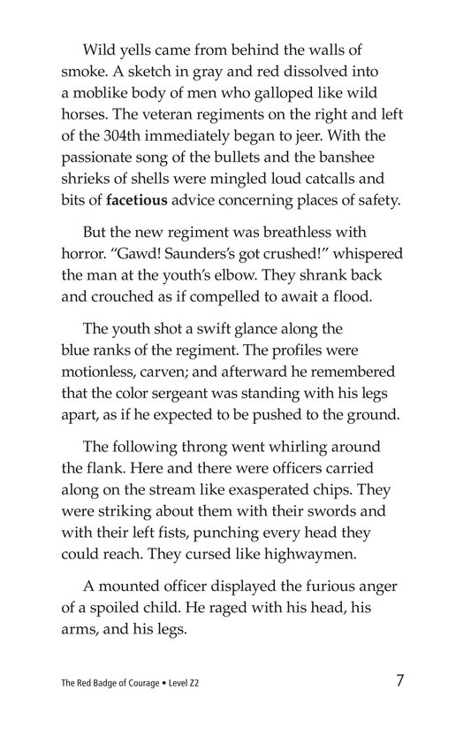 Book Preview For The Red Badge of Courage (Part 4) Page 7