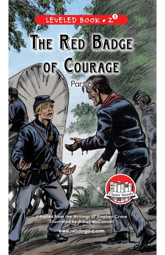 Book Preview For The Red Badge of Courage (Part 6) Page 0
