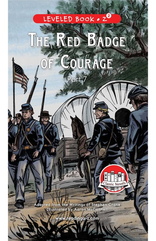 Book Preview For The Red Badge of Courage (Part 7) Page 0