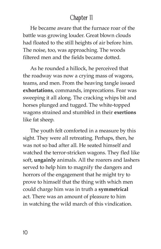 Book Preview For The Red Badge of Courage (Part 7) Page 10