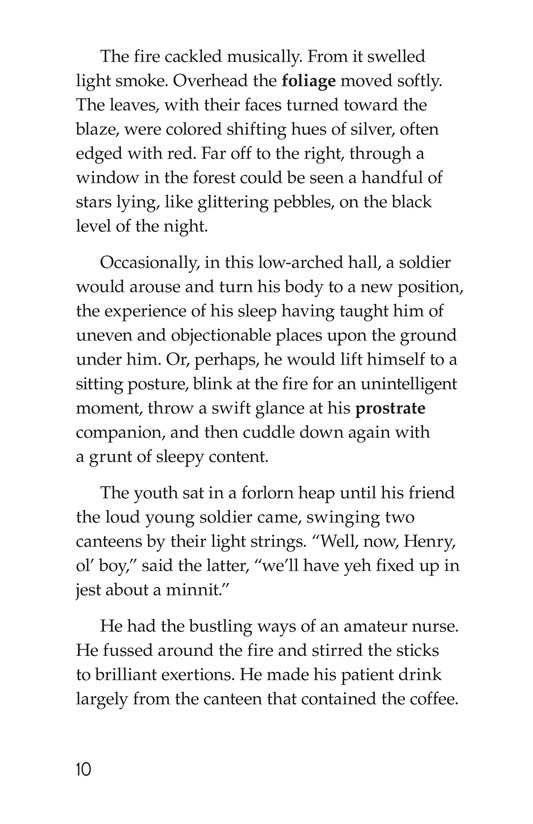 Book Preview For The Red Badge of Courage (Part 9) Page 10