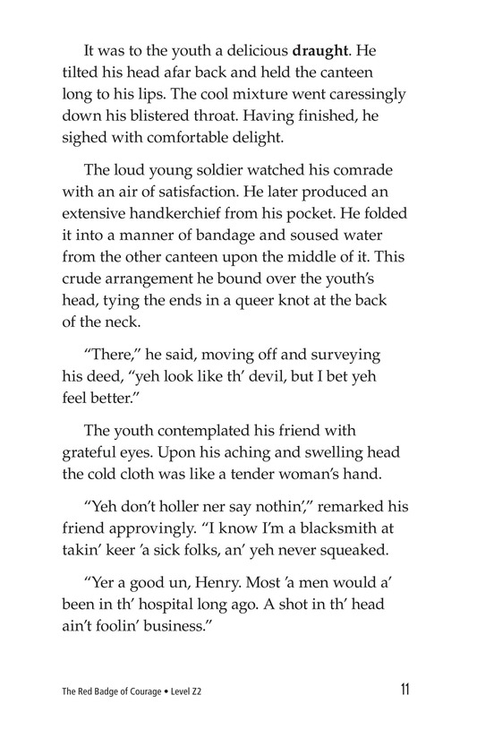 Book Preview For The Red Badge of Courage (Part 9) Page 11