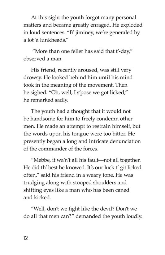 Book Preview For The Red Badge of Courage (Part 10) Page 12