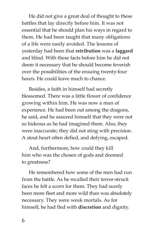 Book Preview For The Red Badge of Courage (Part 10) Page 6