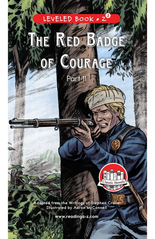 Book Preview For The Red Badge of Courage (Part 11) Page 0
