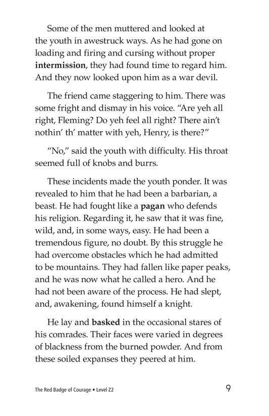 Book Preview For The Red Badge of Courage (Part 11) Page 9