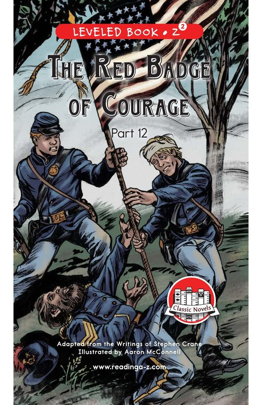 Book Preview For The Red Badge of Courage (Part 12) Page 0