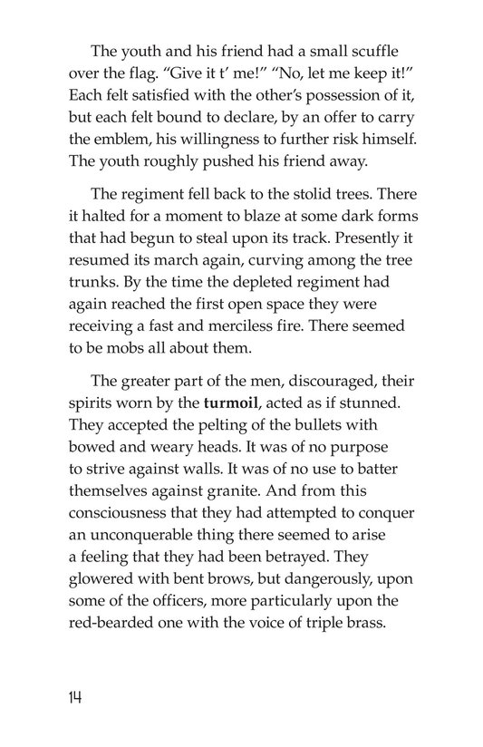 Book Preview For The Red Badge of Courage (Part 12) Page 14