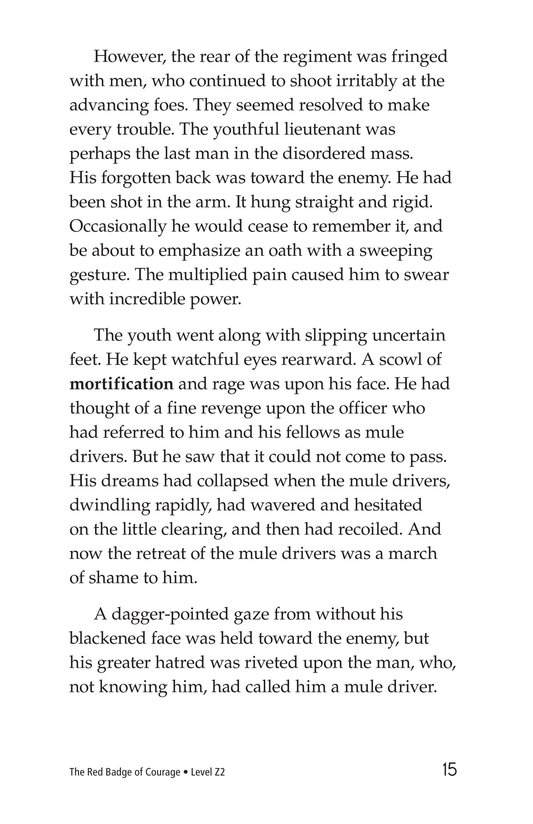 Book Preview For The Red Badge of Courage (Part 12) Page 15