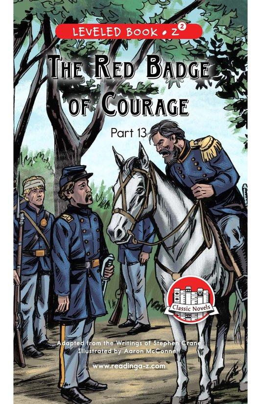 Book Preview For The Red Badge of Courage (Part 13) Page 0