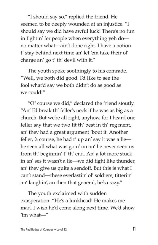 Book Preview For The Red Badge of Courage (Part 13) Page 11
