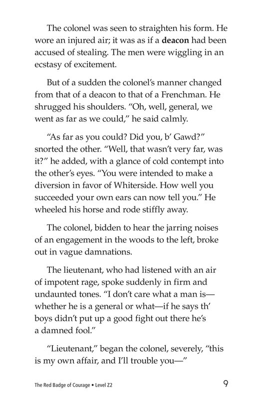 Book Preview For The Red Badge of Courage (Part 13) Page 9