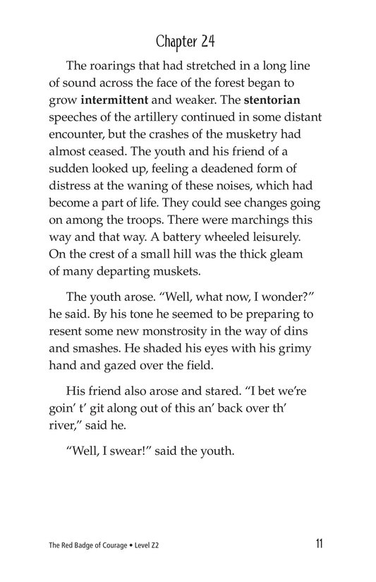 Book Preview For The Red Badge of Courage (Part 14) Page 11