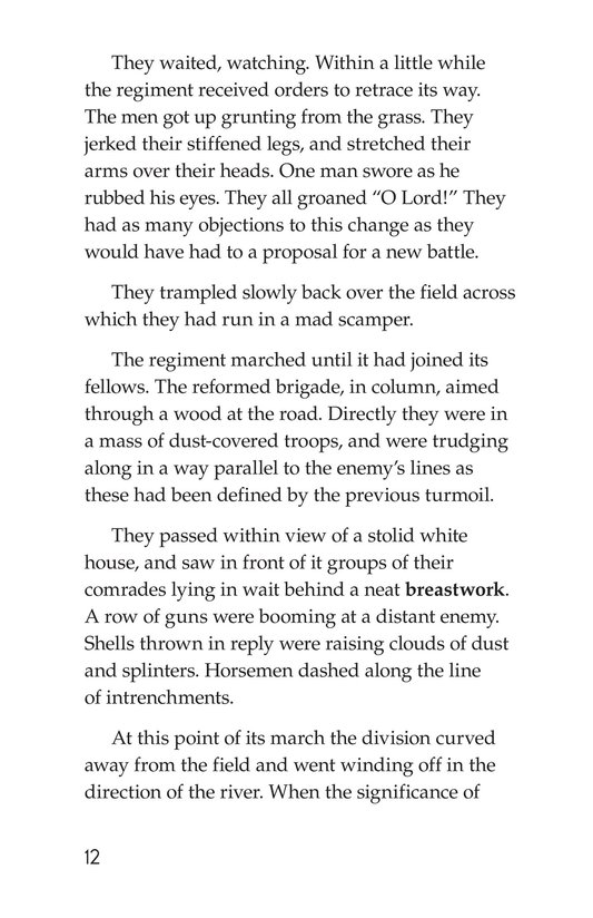 Book Preview For The Red Badge of Courage (Part 14) Page 12